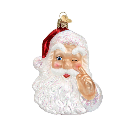 Night Before Christmas Santa Ornament for Christmas Tree