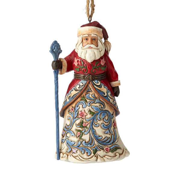 Norwegian Santa Ornament for Christmas Tree