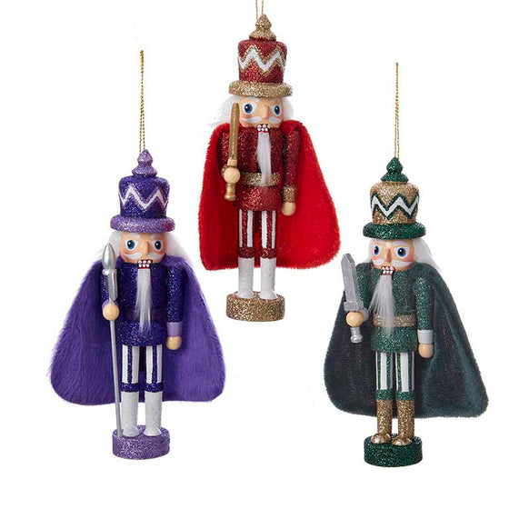 Nutcracker with Cape Ornament