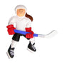 Hockey Player Ornament - Female