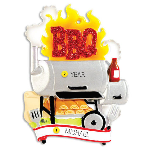 BBQ Smoker Ornament