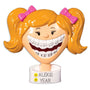 Braces Ornament- Girl