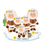 Eskimo Family of 5 Ornament