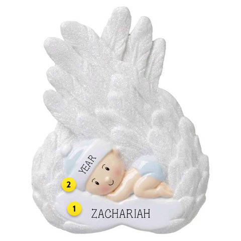 Baby Boy Angel Ornament for Your Tree