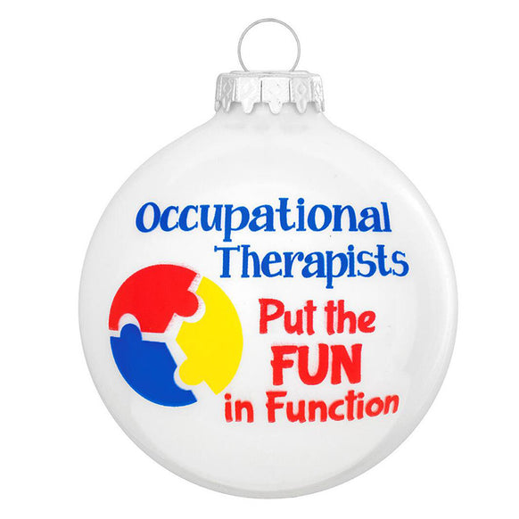 Occupational Therapist Ornament for Christmas Tree