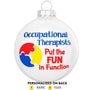 Occupational Therapist Ornament