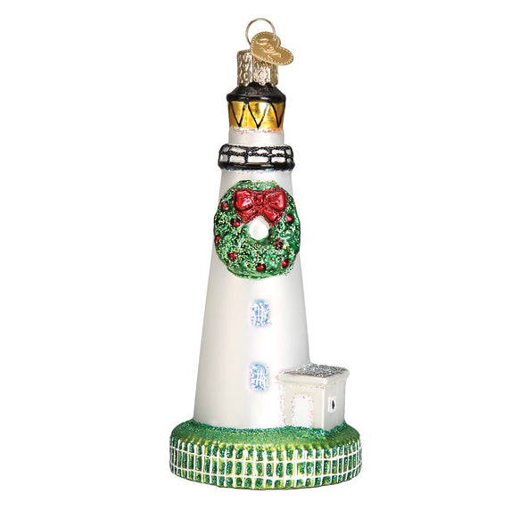 Ocracoke Lighthouse Ornament for Christmas Tree
