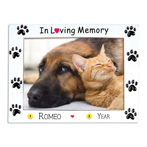 Pet Memorial Frame Ornament