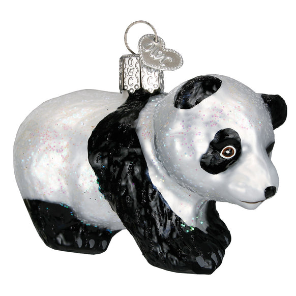 Panda Cub Ornament for Christmas Tree