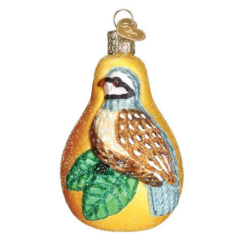 Partridge In A Pear Christmas Ornament Twelve Days of Christmas