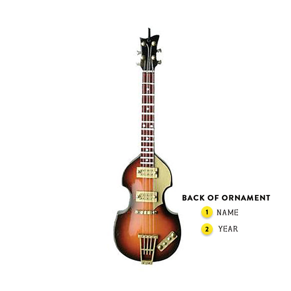 Paul McCartney Bass Guitar Ornament