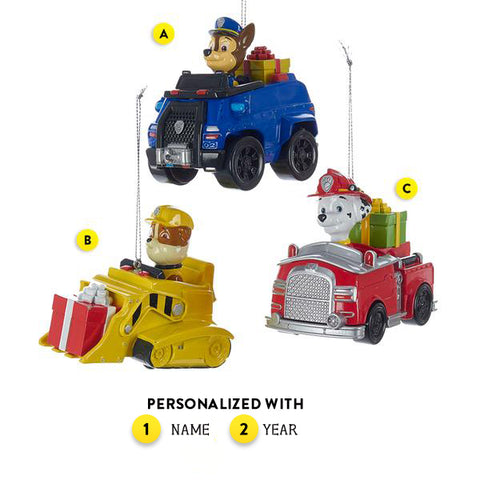 Paw Patrol Ornament for Christmas Tree