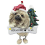 Pekingese Dog Ornament for Christmas Tree