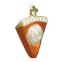 Piece of Pumpkin Pie Ornament for Christmas Tree