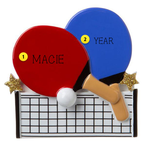 Ping Pong Ornament For Christmas Tree