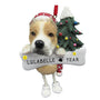 Pit Bull Dog Ornament for Christmas Tree