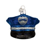 Police Officer's Cap Ornament for Christmas Tree