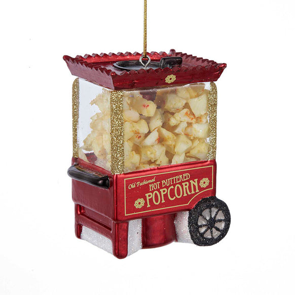 Popcorn Machine Ornament for Christmas Tree