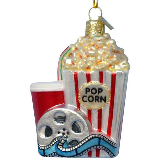 Popcorn at the Movies Ornament for Christmas Tree