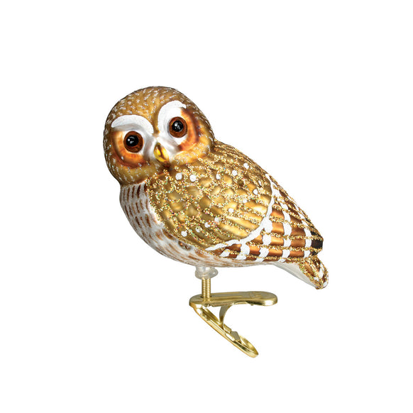 Pygmy Owl Ornament for Christmas Tree