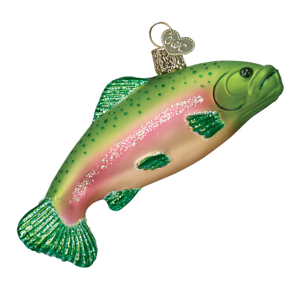 Rainbow Trout Ornament for Christmas Tree