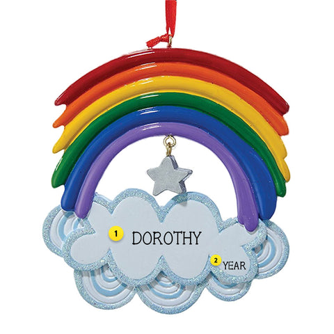 Rainbow Christmas Ornament