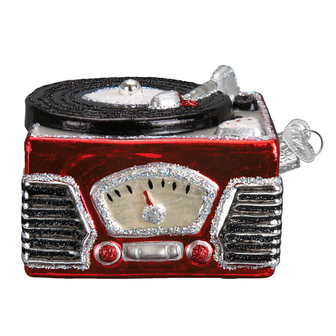 Record Player Ornament for Christmas Tree