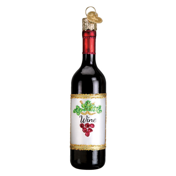 Red Wine Ornament for Christmas Tree