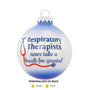 Respiratory Therapist Ornament