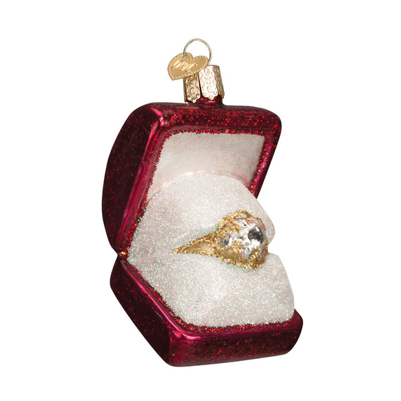 Ring in the Box Ornament for Christmas Tree