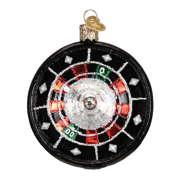 Roulette Wheel Ornament for Christmas Tree