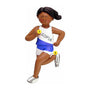 Runner Ornament - African-American Female
