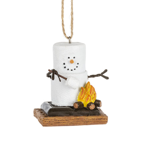 S/'mores Ice Fisherman Ornament