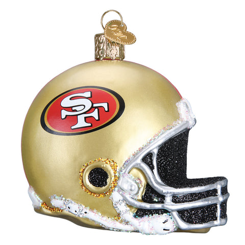 San Francisco 49ers Helmet Ornament for Christmas Tree