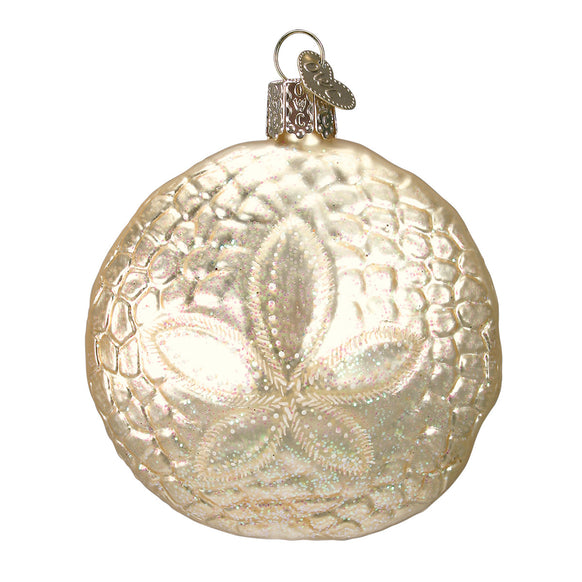 Sand Dollar Ornament for Christmas Tree