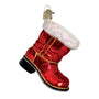 Santa's Boot Ornament for Christmas Tree