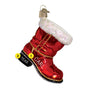 Santa's Boot Ornament