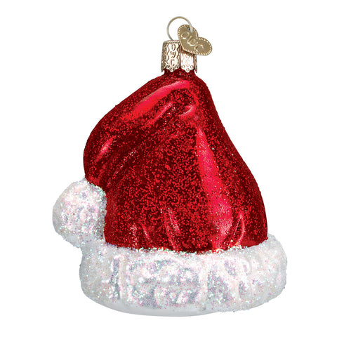 Santa's Hat Ornament for Christmas Tree