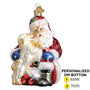 Santa's Puppy Love Ornament