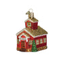 School House Ornament for Christmas Tree