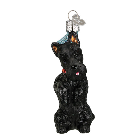 Scottish Terrier Ornament for Christmas Tree