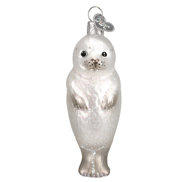 Seal Pup Ornament for Christmas Tree