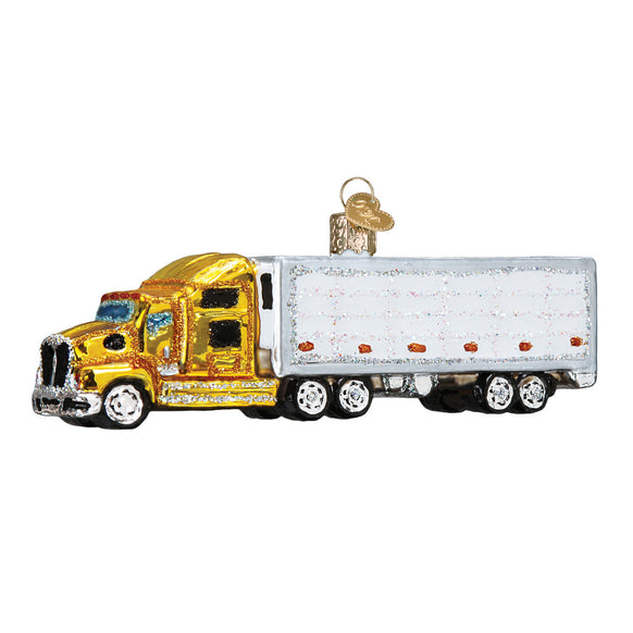 Semi-Truck Ornament for Christmas Tree