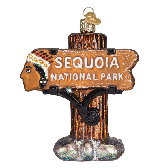 Sequoia National Park Ornament for Christmas Tree