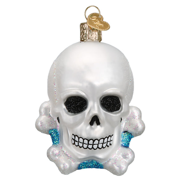 Skull and Crossbones Ornament for Christmas Tree