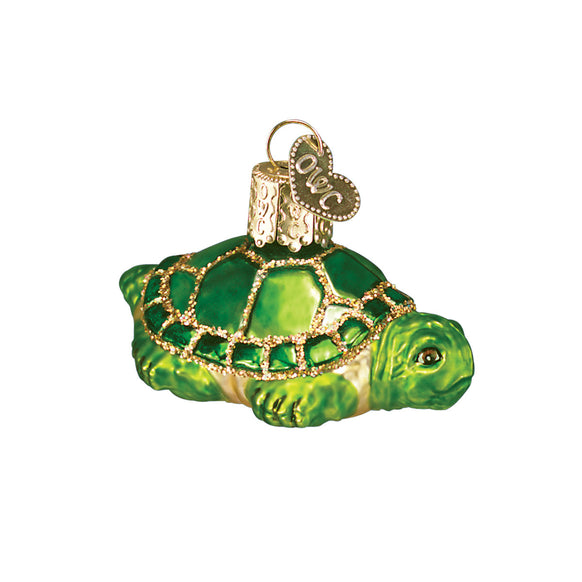 Small Turtle Ornament for Christmas Tree