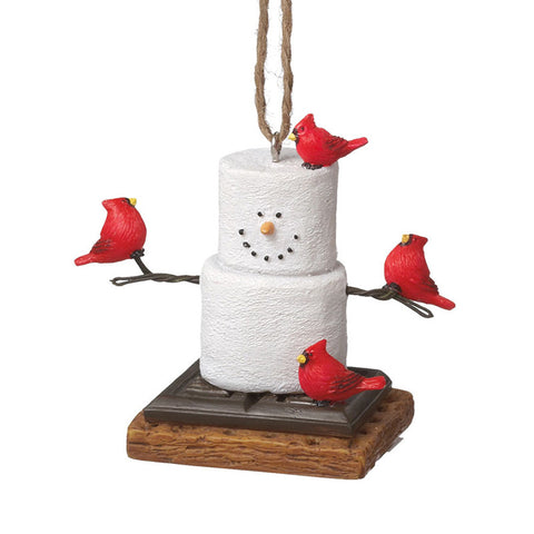 S'more Cardinal Ornament for Christmas Tree