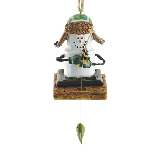 S'more Ice Fisherman Ornament for Christmas Tree