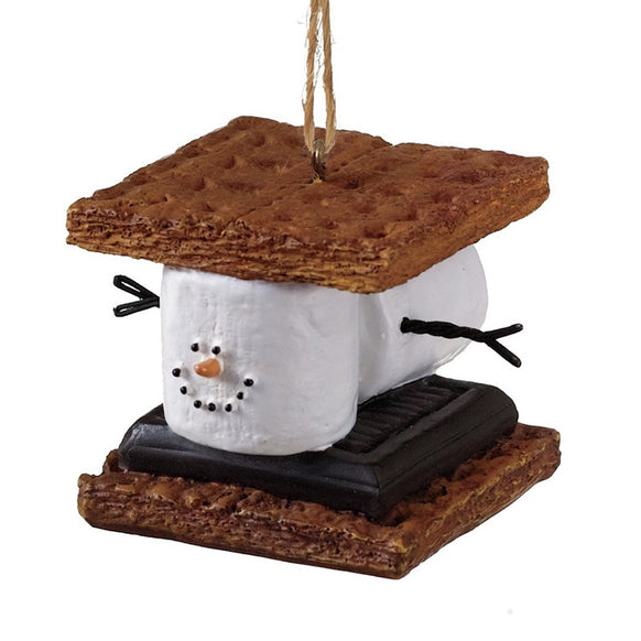 S'mores Sandwich Ornament for Christmas Tree