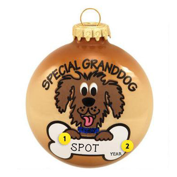 Special Granddog Ornament for Christmas Tree